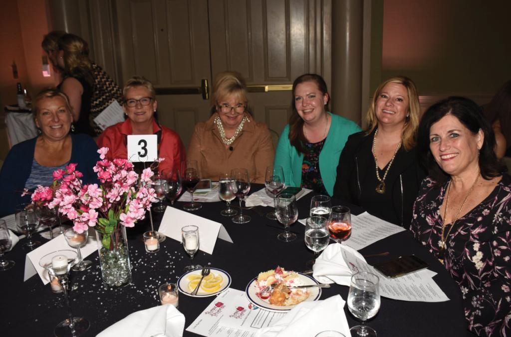Marie Chaisson, Martha Thill, Penny Boling, Jenni Austin, Terri Monkton and Denise Farley