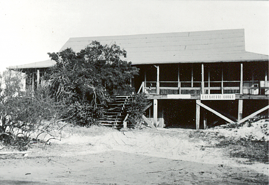 Where it All Began: The first Pawleys Island Pavilion was built about 1902 and served the island until 1925 when it was turned into a rental property