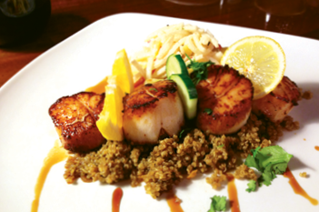 Dine on Diver Scallops at the Cork & Bean Bistro, relax on the Everett Hotel's rooftop terrace and hang your hat at any of the balcony suites available at the Fryemont Inn.