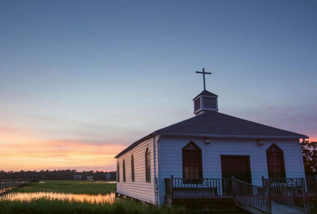 """I just couldn't imagine Pawleys Island without it. Every time you go to church there you feel like you've come out of there with a blessing.""—Connie Garland"