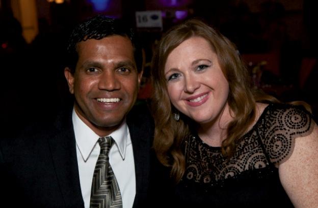 Nathan Almeida and Tamra Sutherland