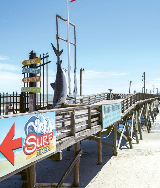 Surfside Pier.