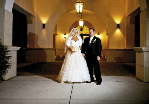 <p><br />Jade Small and Dale North December 3, 2011</p>