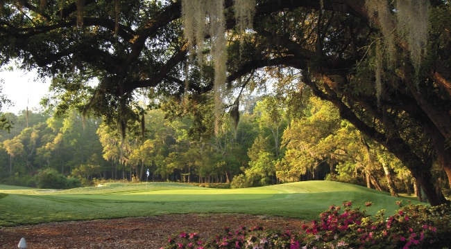 Featuring live oaks and scenic wetlands, Willbrook Plantation near Pawleys Island is one of the top courses in the south end.