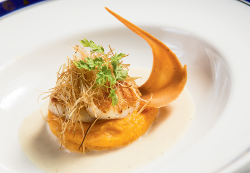Myrtle Beach Sc Pan Seared Day Boat Scallops With Fennel