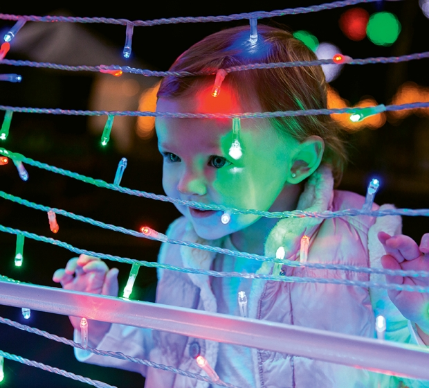 head to north myrtle beach to get festive with the great christmas light show