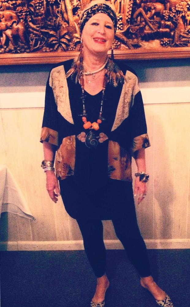 Fashion Designer And Formal Model Deborah Mayberry Mandrell Profiled