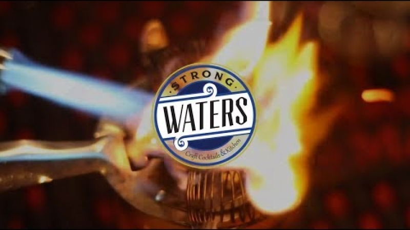 Embedded thumbnail for Strong Waters Craft Cocktails & Kitchen
