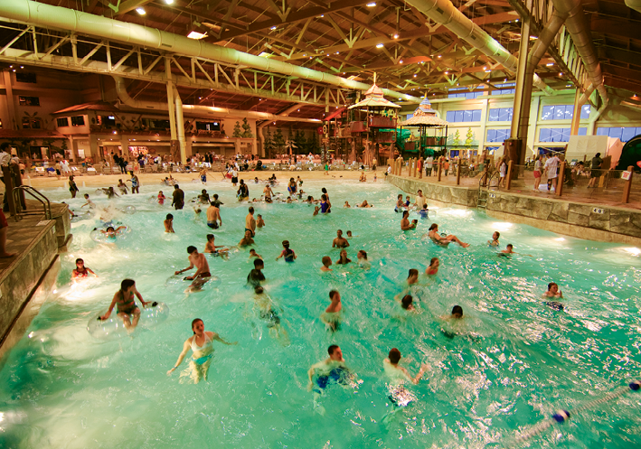 Indoor and outdoor waterparks may be the big draw, but they're just the beginning of family entertainment options at Great Wolf Lodge.
