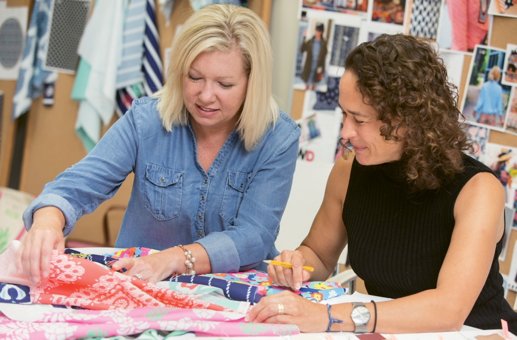 Thigpen credits the loyalty and talent of her staff, or family, she says, in the growth and success of Wholesale Boutique.