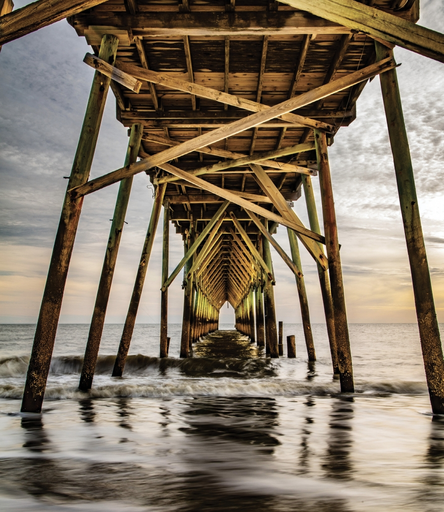 Holden Beach Pier (Golden Hour) - Eric Henson - Holden Beach Pier