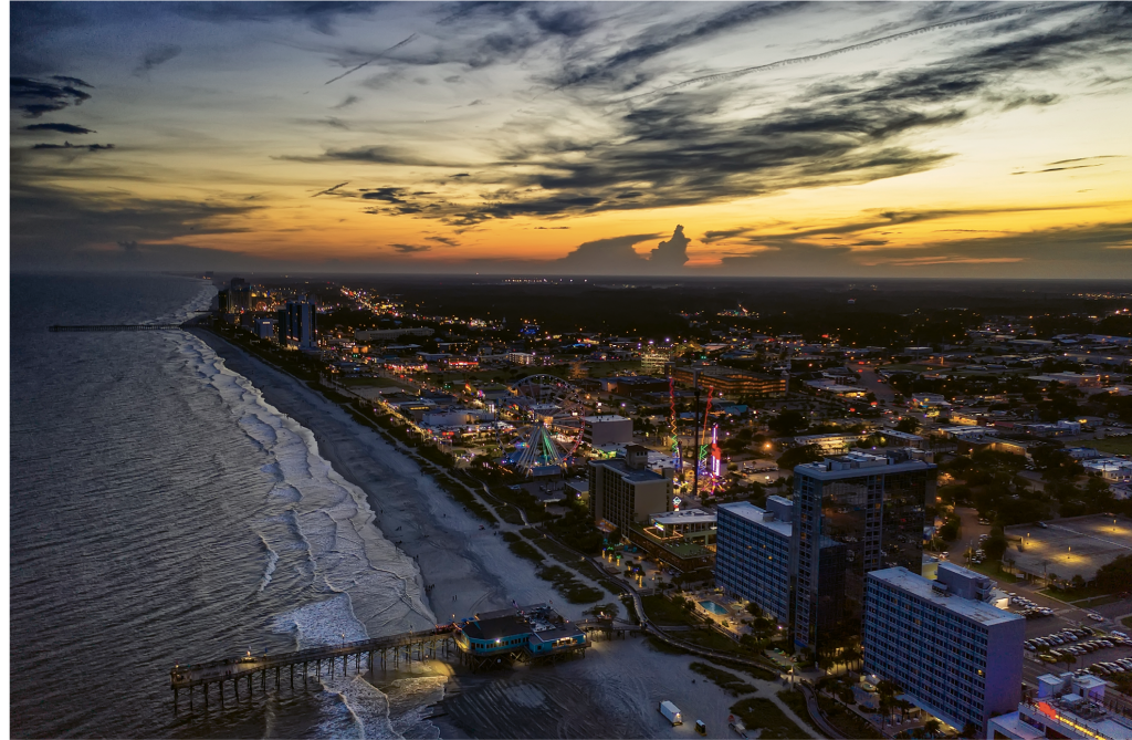A Skywheel Myrtle Beach Sunset - Jon Snyder - Myrtle Beach
