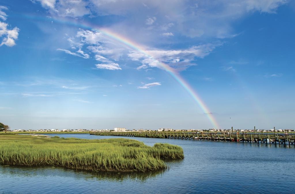 MarshWalk Rainbow - Austin Bond - Murrells Inlet MarshWalk