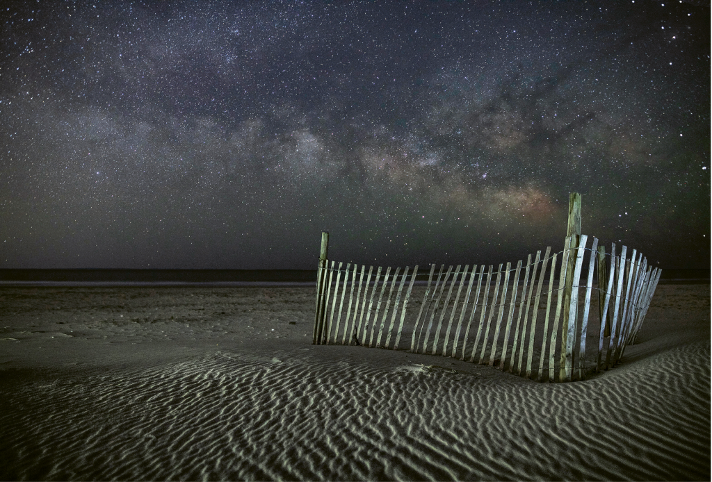 Milky Way Night - Vicky Stroupe - Pawleys Island