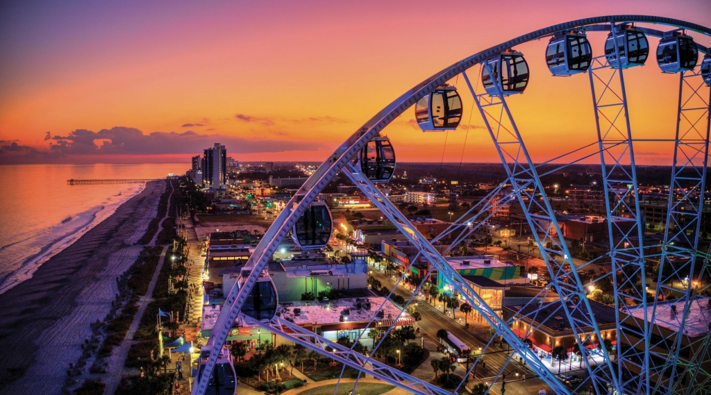 SkyWheel Sunset - Robbie Bischoff - Myrtle Beach