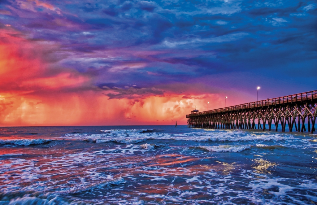Fire in the Sky - Jack Molnar - 2nd Avenue Pier, Myrtle Beach