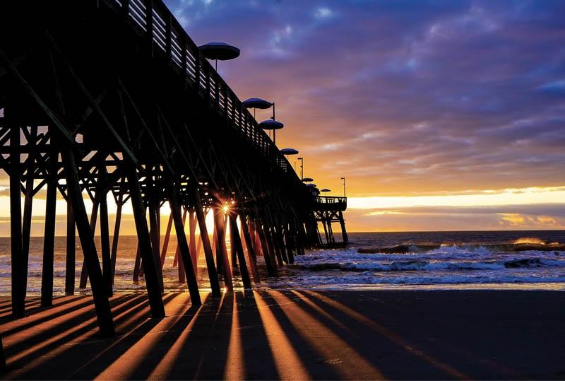 KALEIDOSCOPE SUNRISE - James O'Neil, Garden City Beach