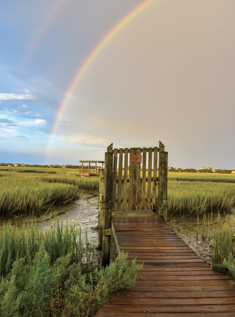 Rainbow Over Pawleys - Jim Arnold - South Causeway, Pawleys Island