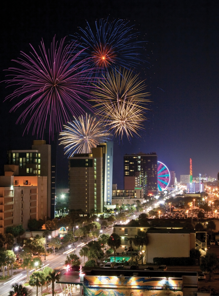 Myrtle Beach Fireworks - Bill Woodward - Downtown Myrtle Beach