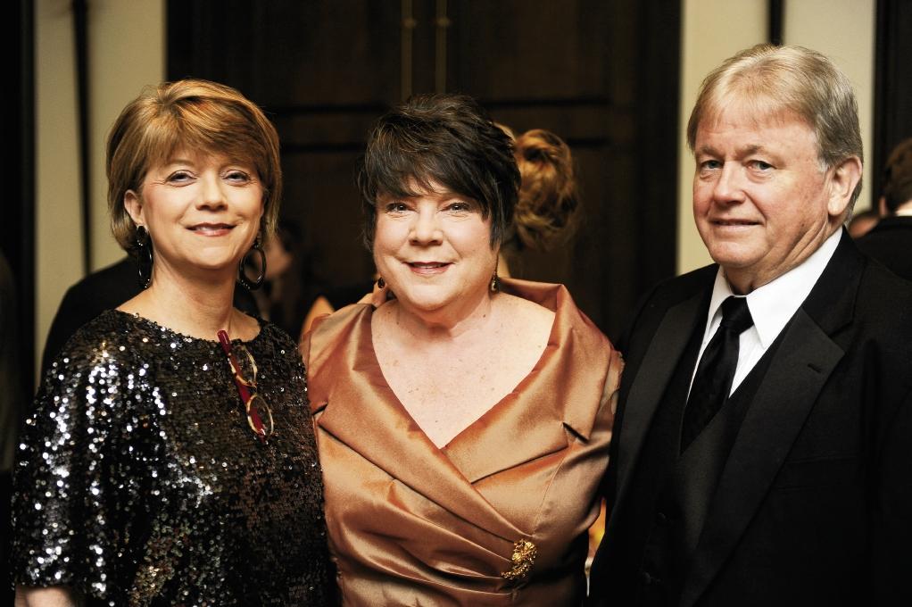 Vicki Fowler with Carol and Jim Bowdre