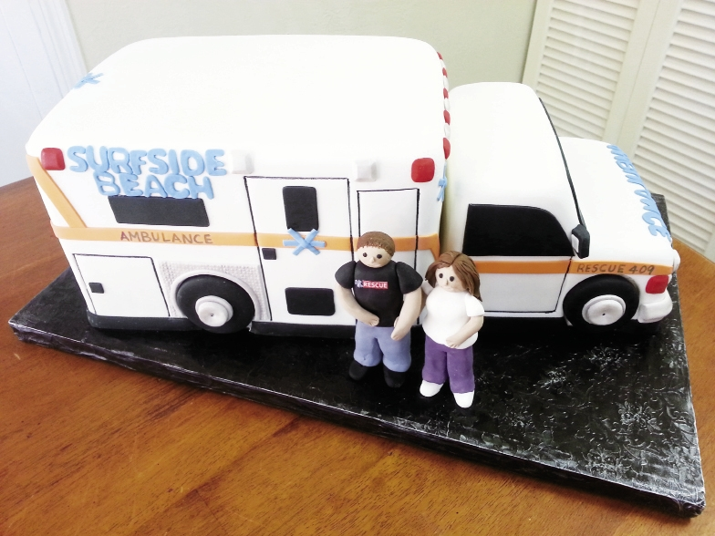 Couple: Rebecca Stenger & Mike Keller  Bakery: Incredible Edibles