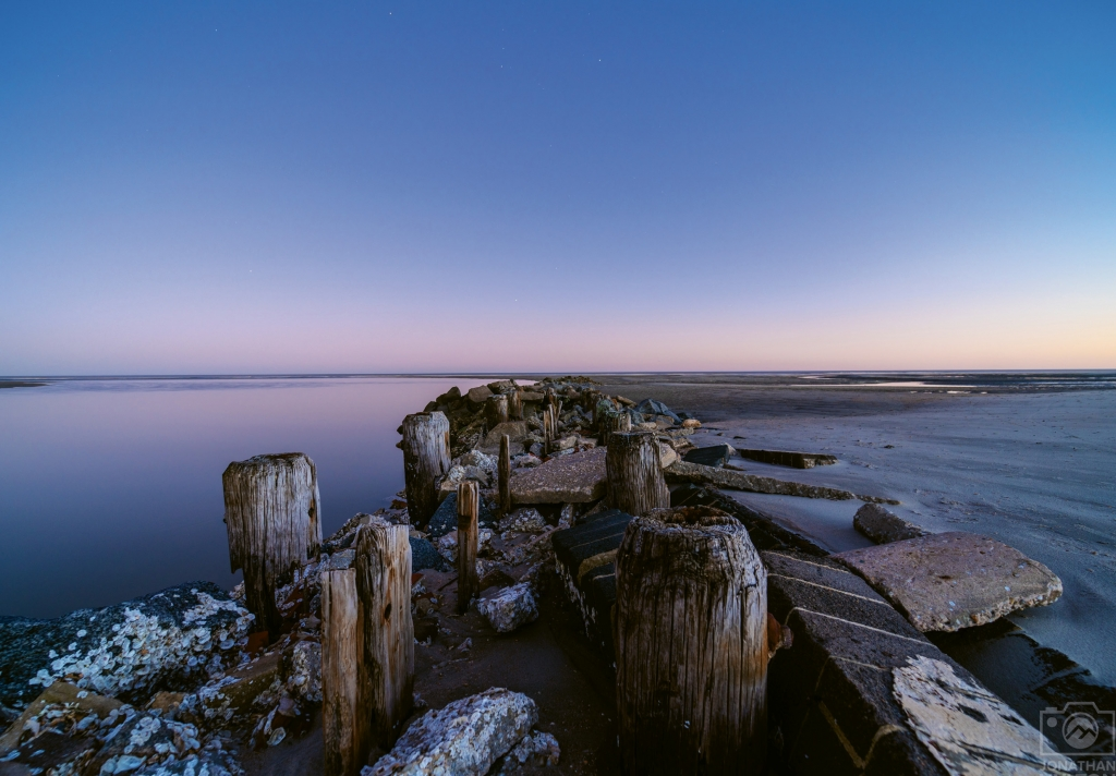 Blue Hour at the Beach - Jonathan Hylton - Pawleys Island
