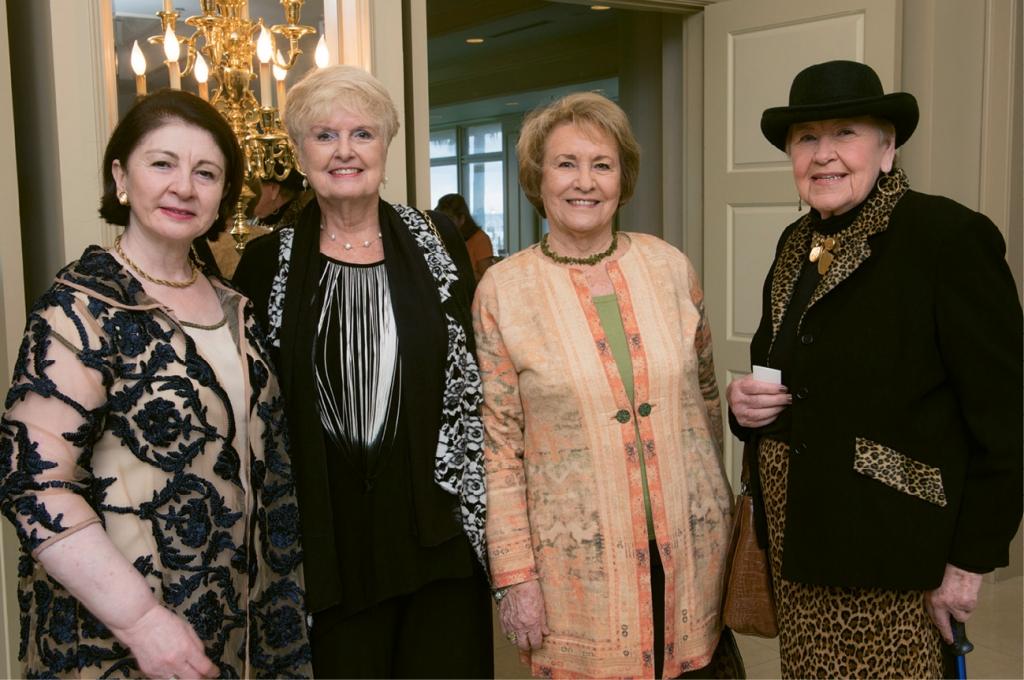 Malalai Nadi, Earlene Jackson, Eleanor Langley and Joanne Milnor
