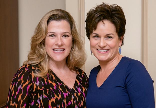 Michelle Capps and Nicole Puglia