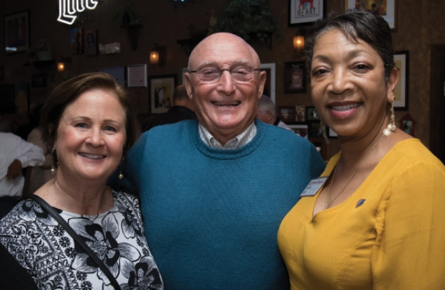 Linda and Mauro Altizio with  Cheryl Bell