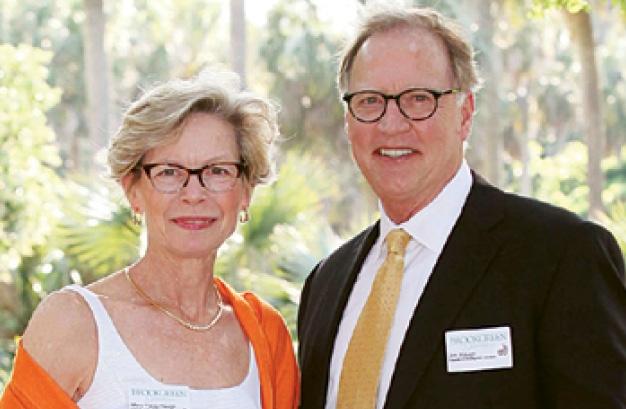 Mary Flagg Haugh and  Jim Haugh