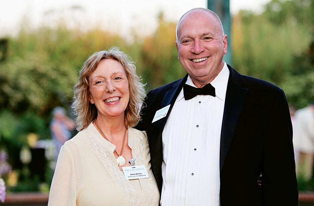 Helen Benso and Gary Weimer
