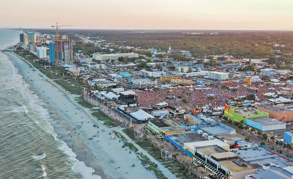 An estimated 30,000 people attended each night of the 2017 Carolina Country Music Fest.