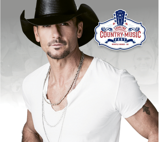 Super Saturday: Country music superstar Tim McGraw is the CCMF Saturday night headliner. McGraw, a three-time Grammy winning artist, has sold more than 40 million records during his career.