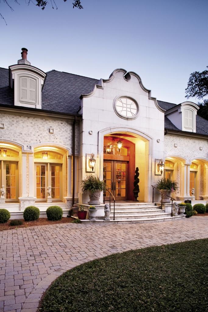 Home of Jo Ann and Richard Crumpler.
