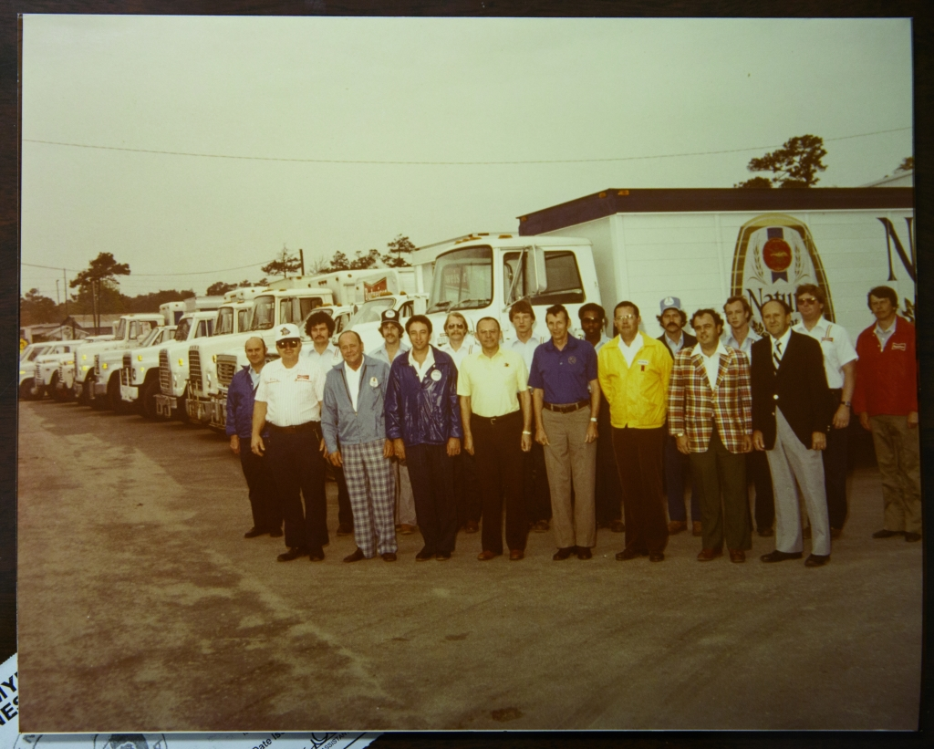 The Better Brands team in the late 1970s.