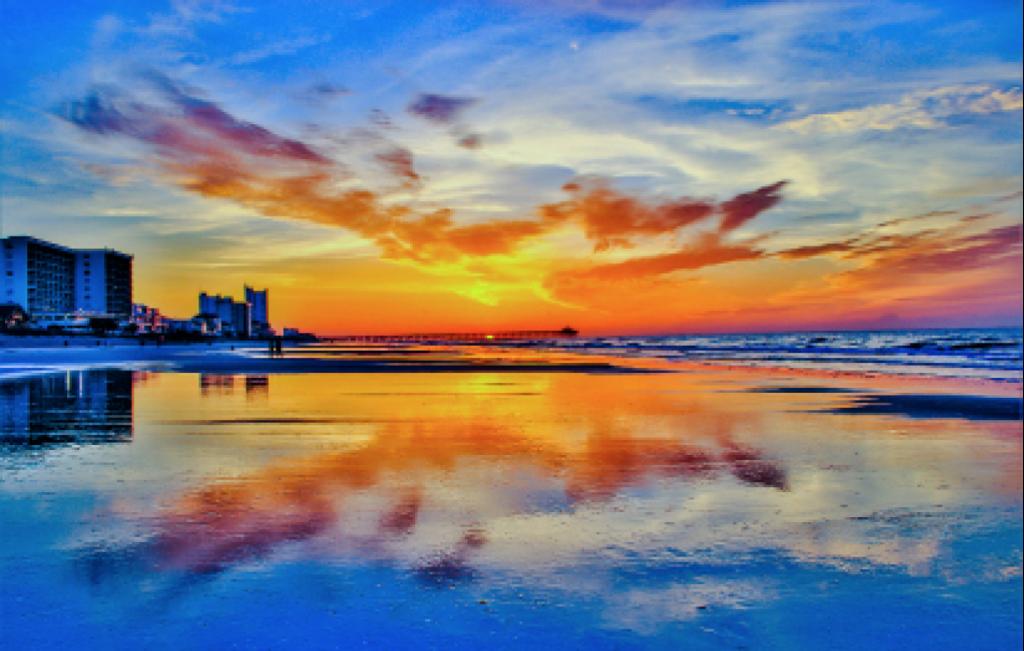 Sunrise at Cherry Grove Beach Keith Green Jr. Cherry Grove Beach Pier