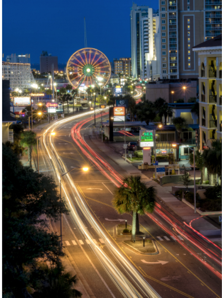 Summer Nights Matthew Trudeau Ocean Boulevard, Myrtle Beach