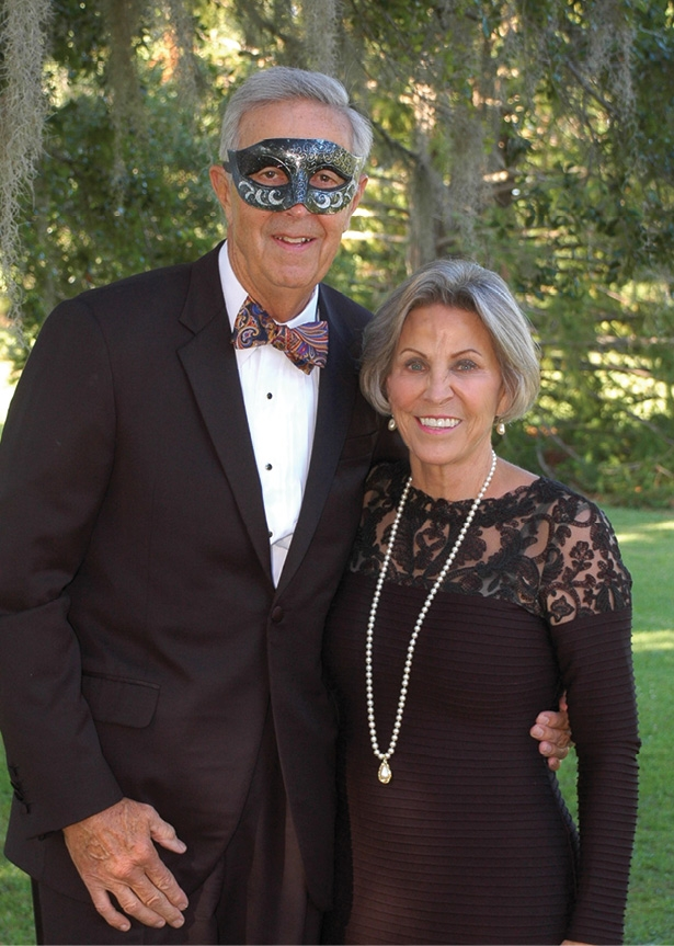 Hugh and Penny Martin