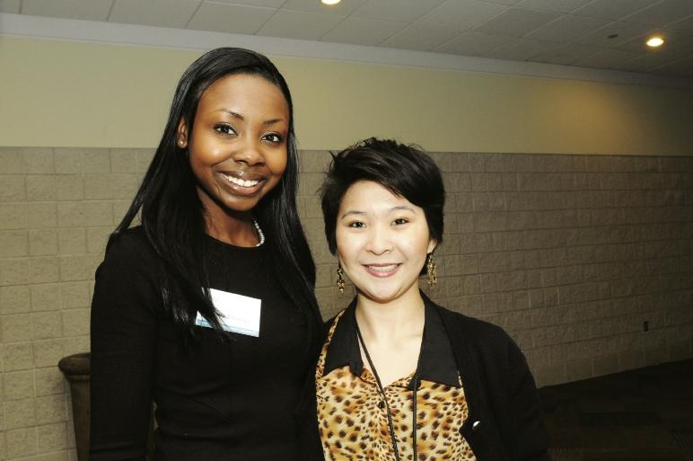 Maya Burney and Christine Po