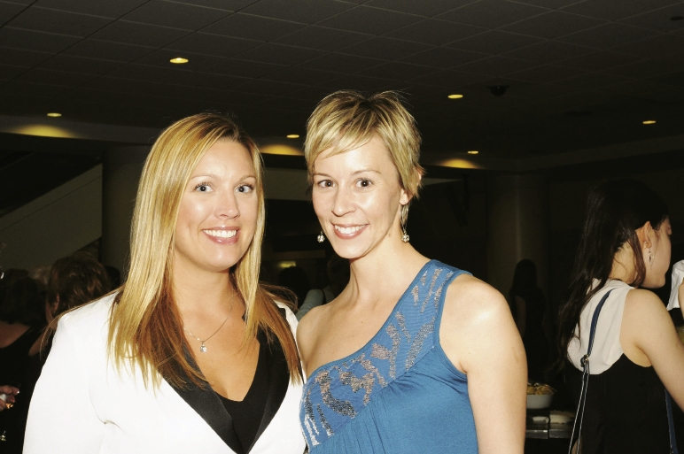Heather Eberlin and Ashley Burkholder