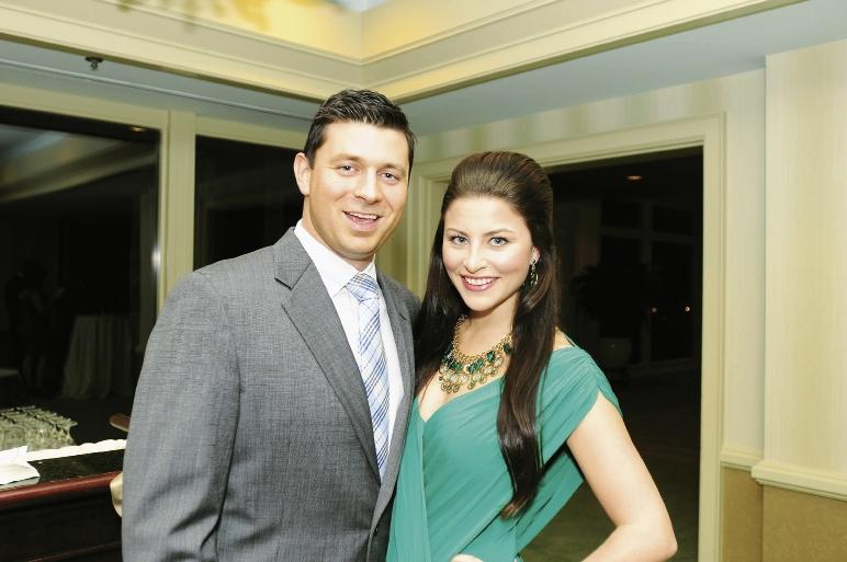 Brandon Arnette and Ashley Martin