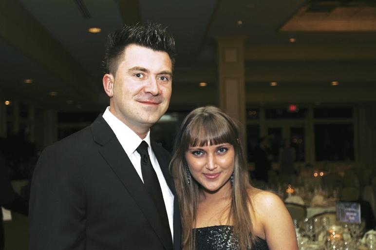 Peter Wojtyra and Darya Prilukova