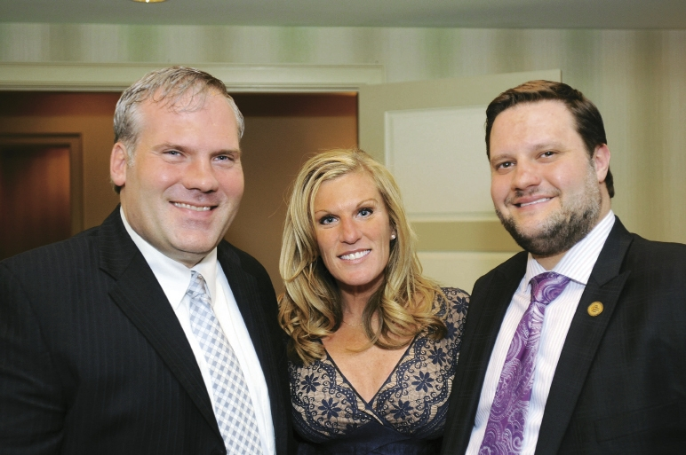 Brad Daniels, Carla Weaver and Dennis DiSabato