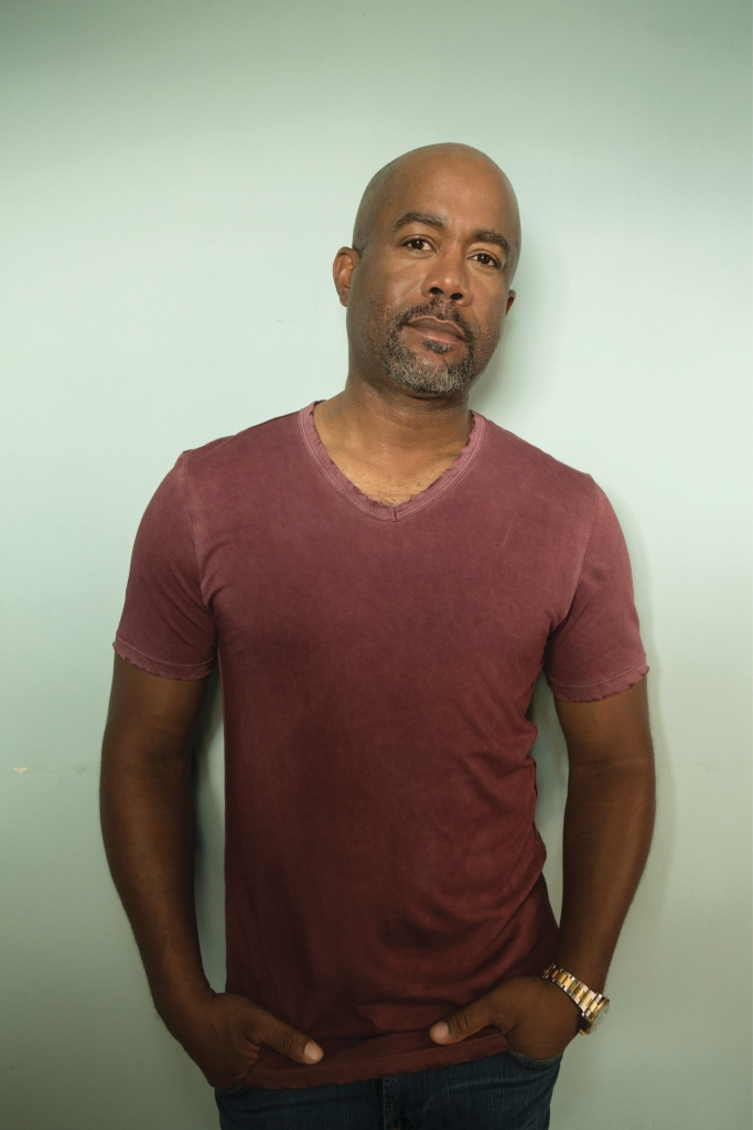 Darius Rucker was back in the studio in early 2020 working on his next solo album.