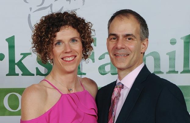 Ashley and Sam Stathos