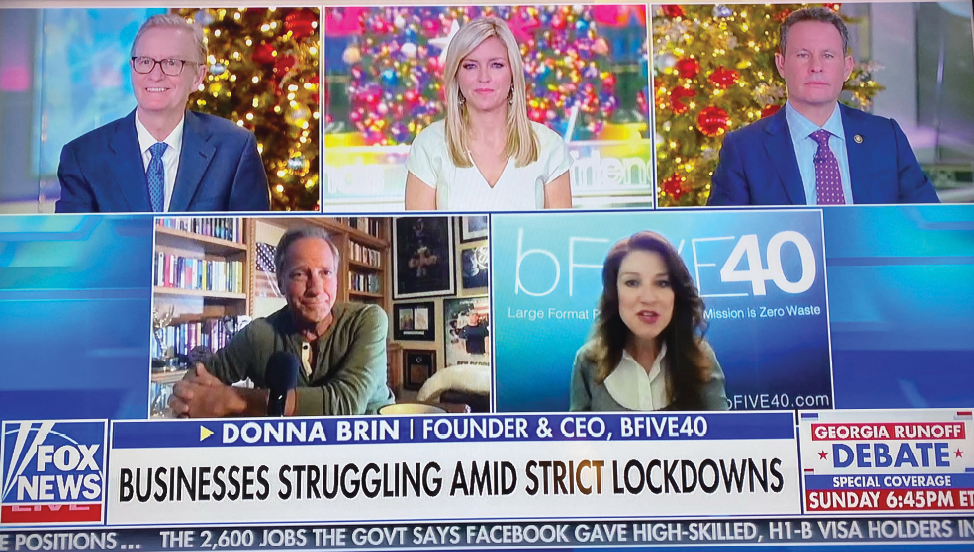 Brin on Fox News via Mike Rowe Works.