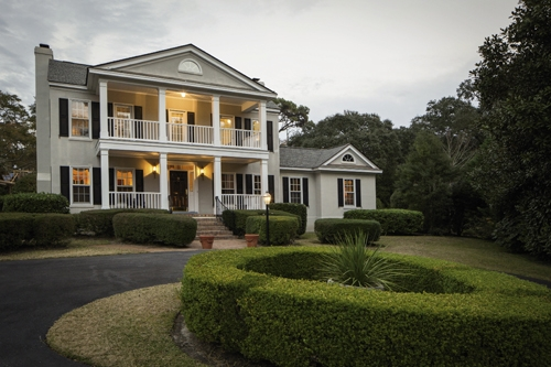 This Is Home: Modeled after a circa 1786 house in Winnsboro, S.C., the Stewart's Grand Strand home is a shrine to their love of history, artifacts, family antiques, travels and heritage. Every corner has a story and every story has its own corner