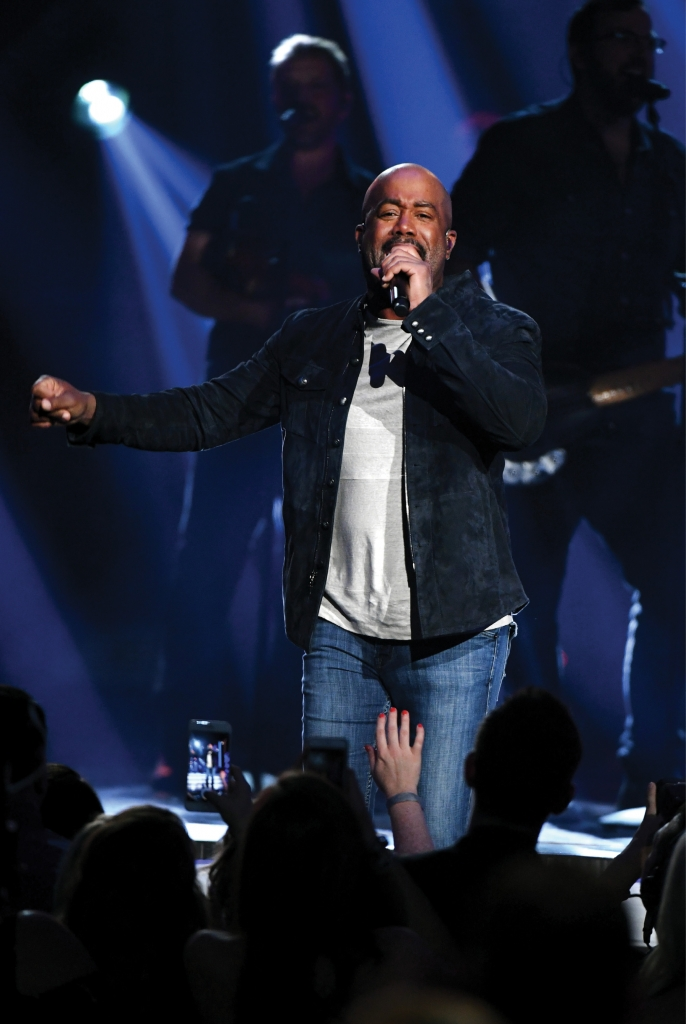 In early 2020, Darius Rucker's sing-along hit Wagon Wheel was certified eight times platinum — making it one of the top five most popular country singles ever.