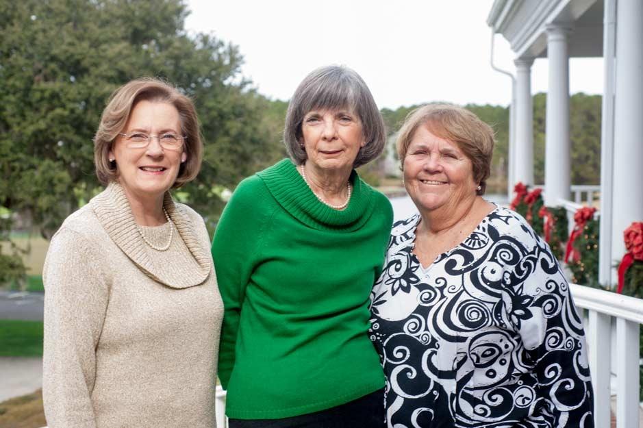 Alice Cook, Susan Ruark, Reta Schaap