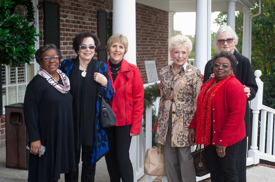 Juanita Anderson, Cissy Murdaugh, Pat Gadek, Peggie Najim, Bell Nance, Susie Smith